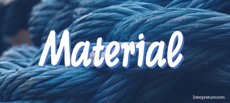 Material - Poem Analysis