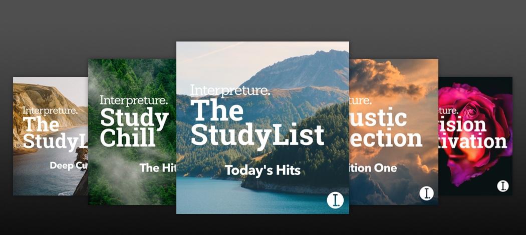 Spotify Revision Playlists