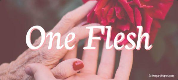 One Flesh - Poem Analysis