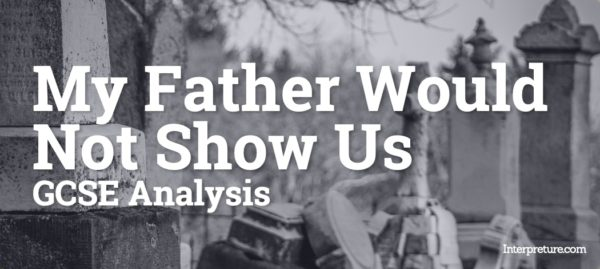 My Father Would Not Show Us - Poem Analysis